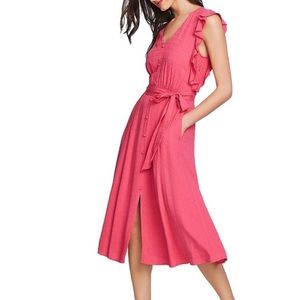 1.State Casual Midi Dress